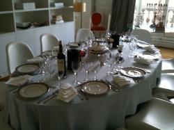 comment mettre la table la cocina de sam. Black Bedroom Furniture Sets. Home Design Ideas